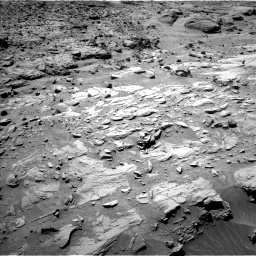 Nasa's Mars rover Curiosity acquired this image using its Left Navigation Camera on Sol 615, at drive 1330, site number 31