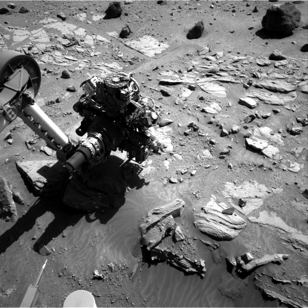 Nasa's Mars rover Curiosity acquired this image using its Right Navigation Camera on Sol 615, at drive 1330, site number 31