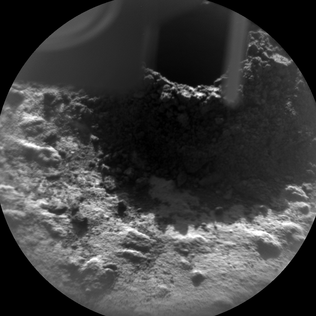 Nasa's Mars rover Curiosity acquired this image using its Chemistry & Camera (ChemCam) on Sol 615, at drive 1330, site number 31