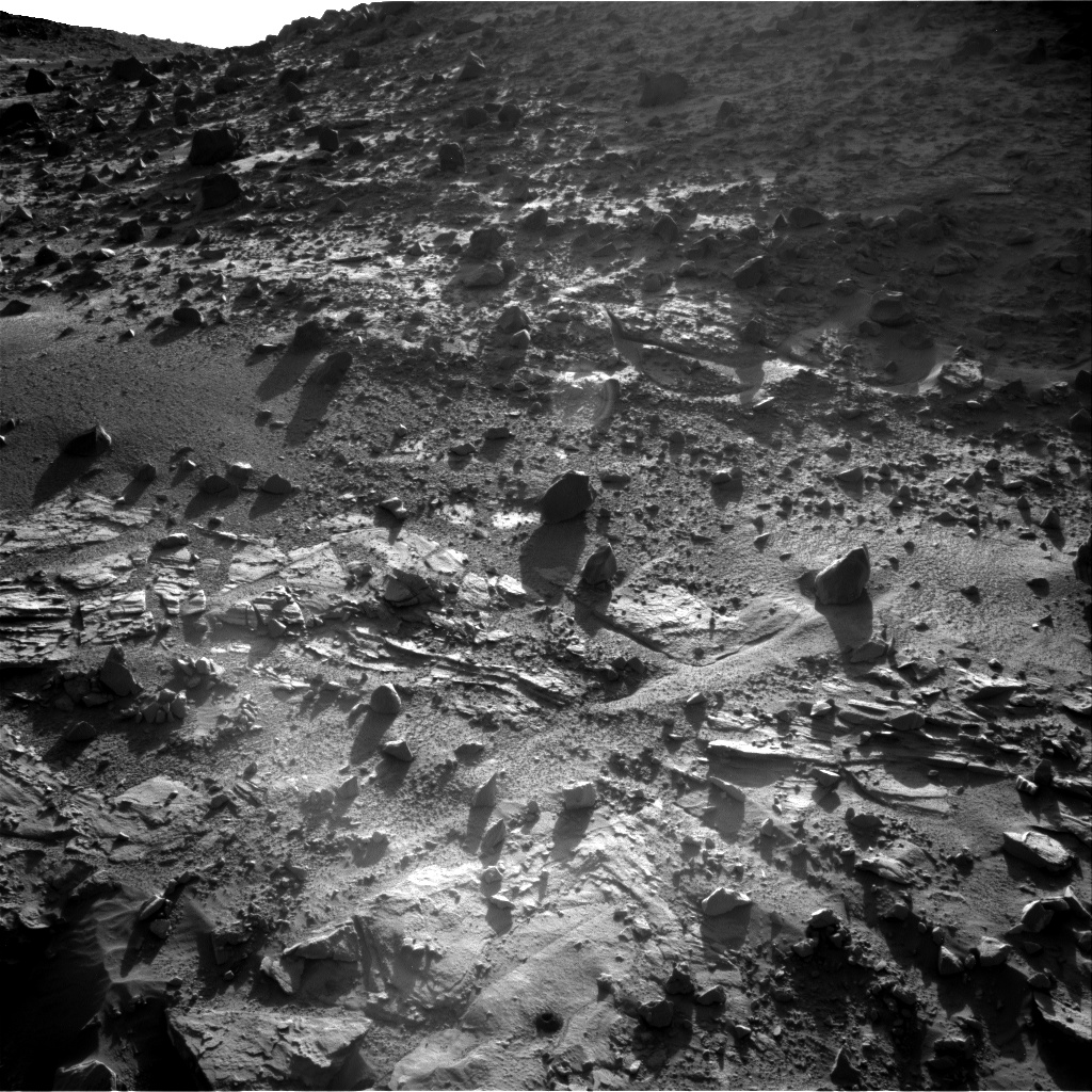 Nasa's Mars rover Curiosity acquired this image using its Right Navigation Camera on Sol 617, at drive 1330, site number 31