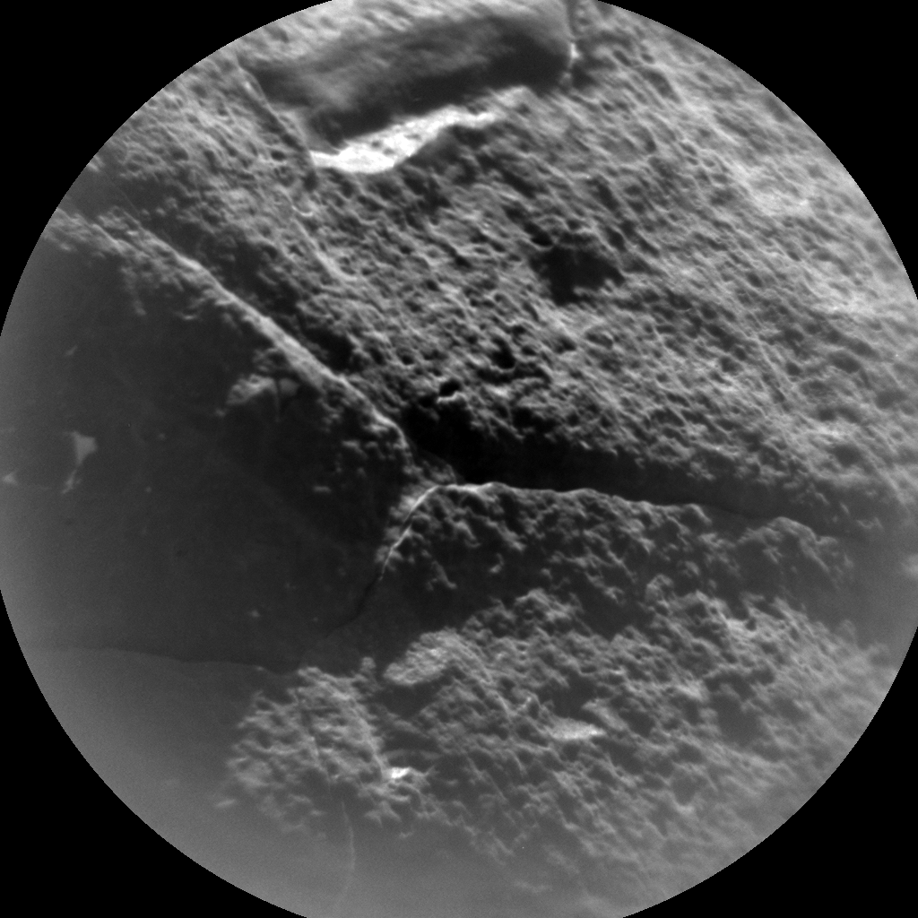 Nasa's Mars rover Curiosity acquired this image using its Chemistry & Camera (ChemCam) on Sol 618, at drive 1330, site number 31