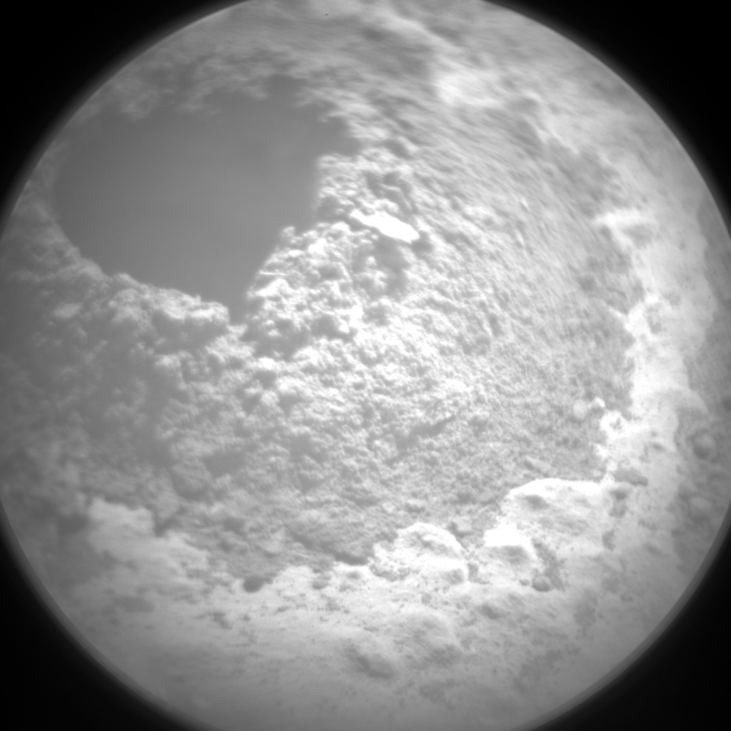 Nasa's Mars rover Curiosity acquired this image using its Chemistry & Camera (ChemCam) on Sol 619, at drive 1330, site number 31