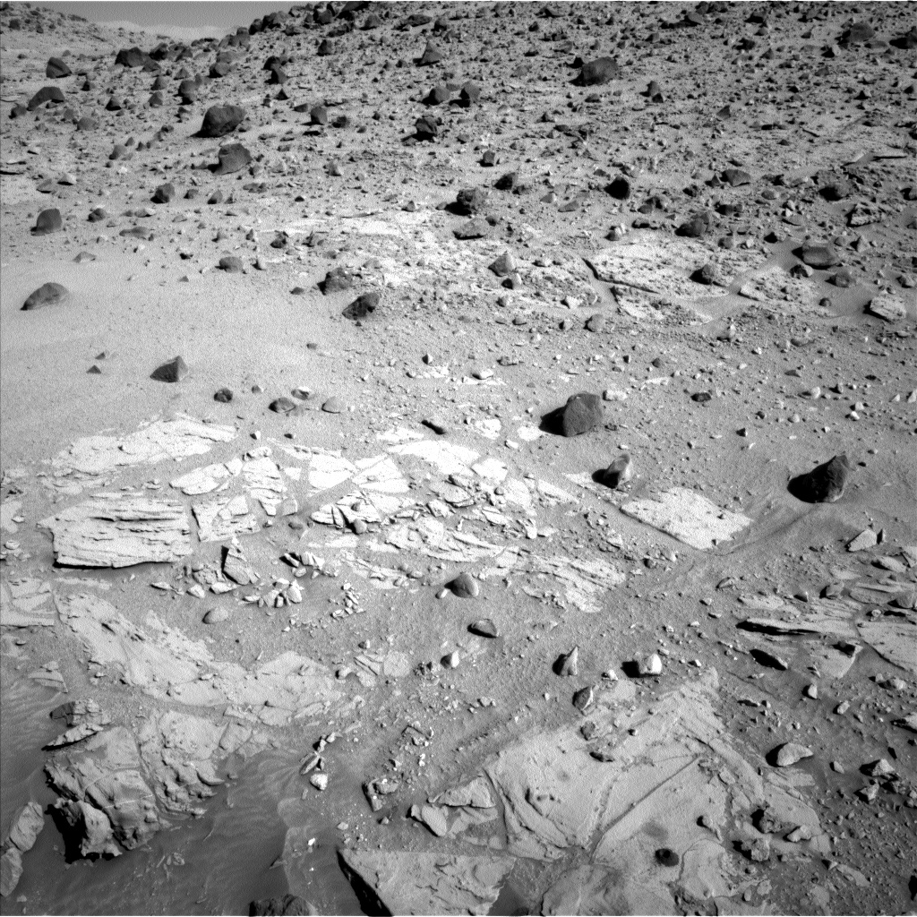 Nasa's Mars rover Curiosity acquired this image using its Left Navigation Camera on Sol 620, at drive 1330, site number 31