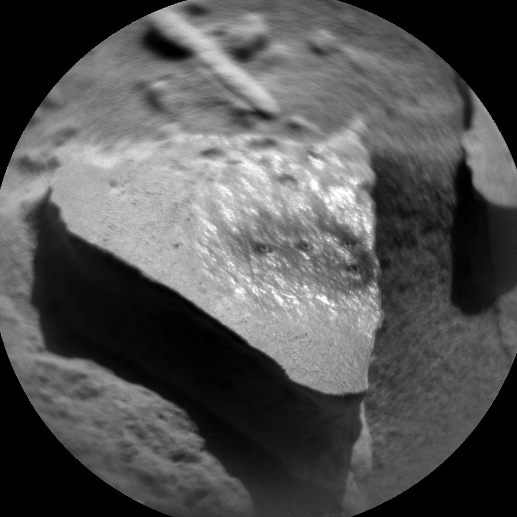 Nasa's Mars rover Curiosity acquired this image using its Chemistry & Camera (ChemCam) on Sol 620, at drive 1330, site number 31