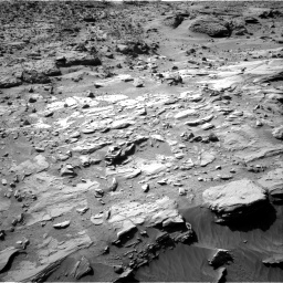 Nasa's Mars rover Curiosity acquired this image using its Right Navigation Camera on Sol 621, at drive 1330, site number 31