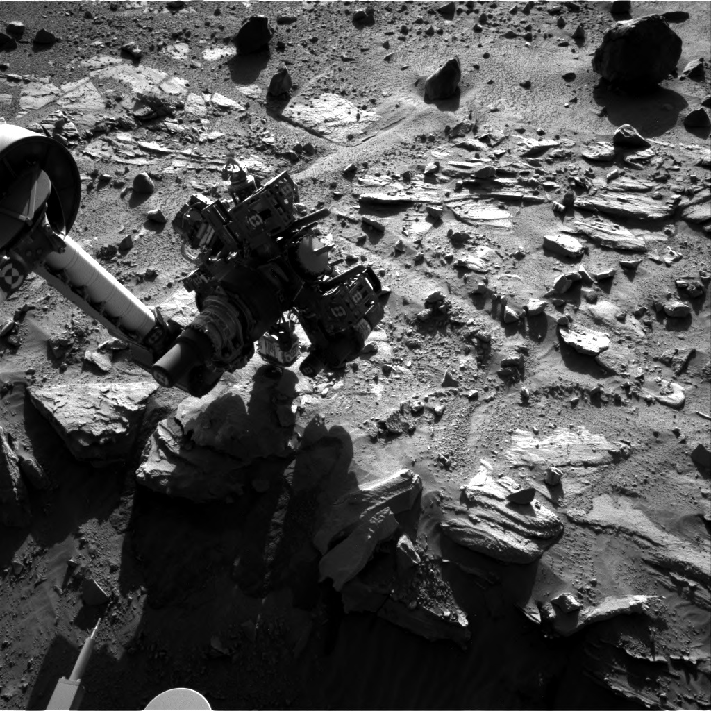 Nasa's Mars rover Curiosity acquired this image using its Right Navigation Camera on Sol 622, at drive 1330, site number 31