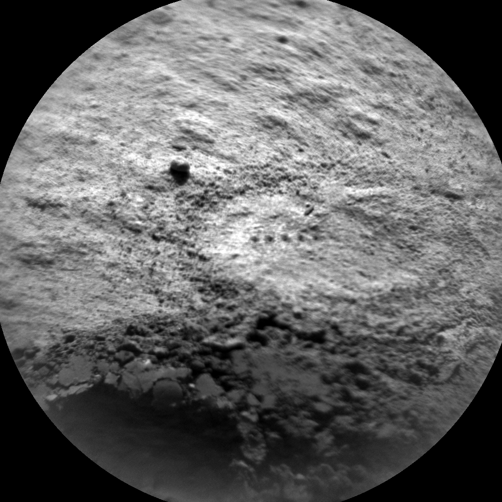 Nasa's Mars rover Curiosity acquired this image using its Chemistry & Camera (ChemCam) on Sol 622, at drive 1330, site number 31