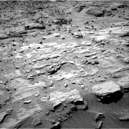 Nasa's Mars rover Curiosity acquired this image using its Right Navigation Camera on Sol 623, at drive 1330, site number 31