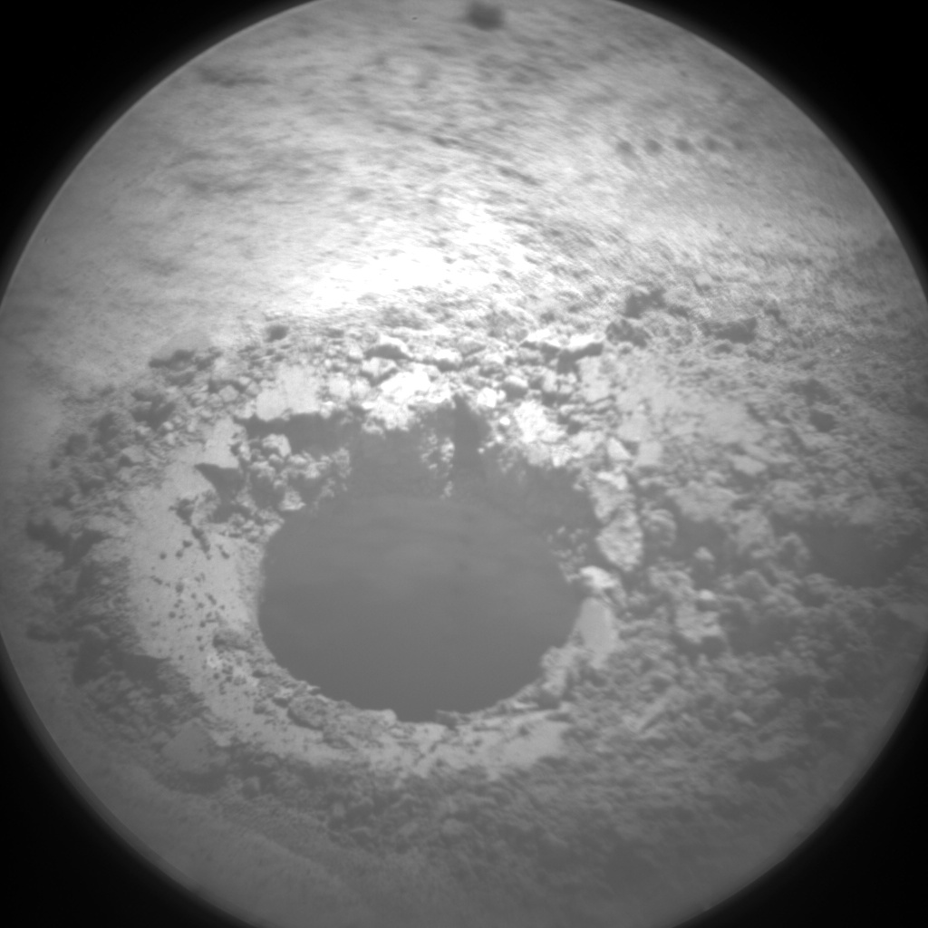Nasa's Mars rover Curiosity acquired this image using its Chemistry & Camera (ChemCam) on Sol 626, at drive 1330, site number 31