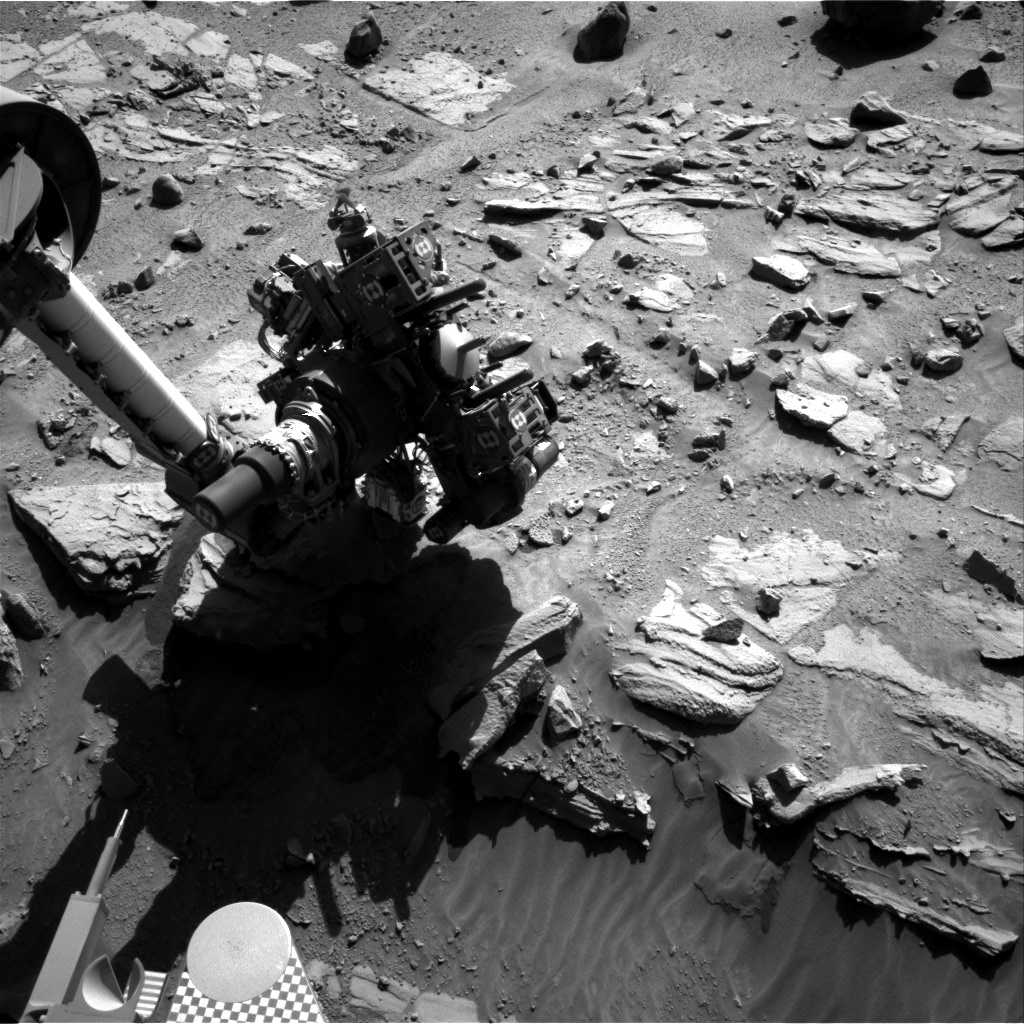 Nasa's Mars rover Curiosity acquired this image using its Right Navigation Camera on Sol 627, at drive 1330, site number 31