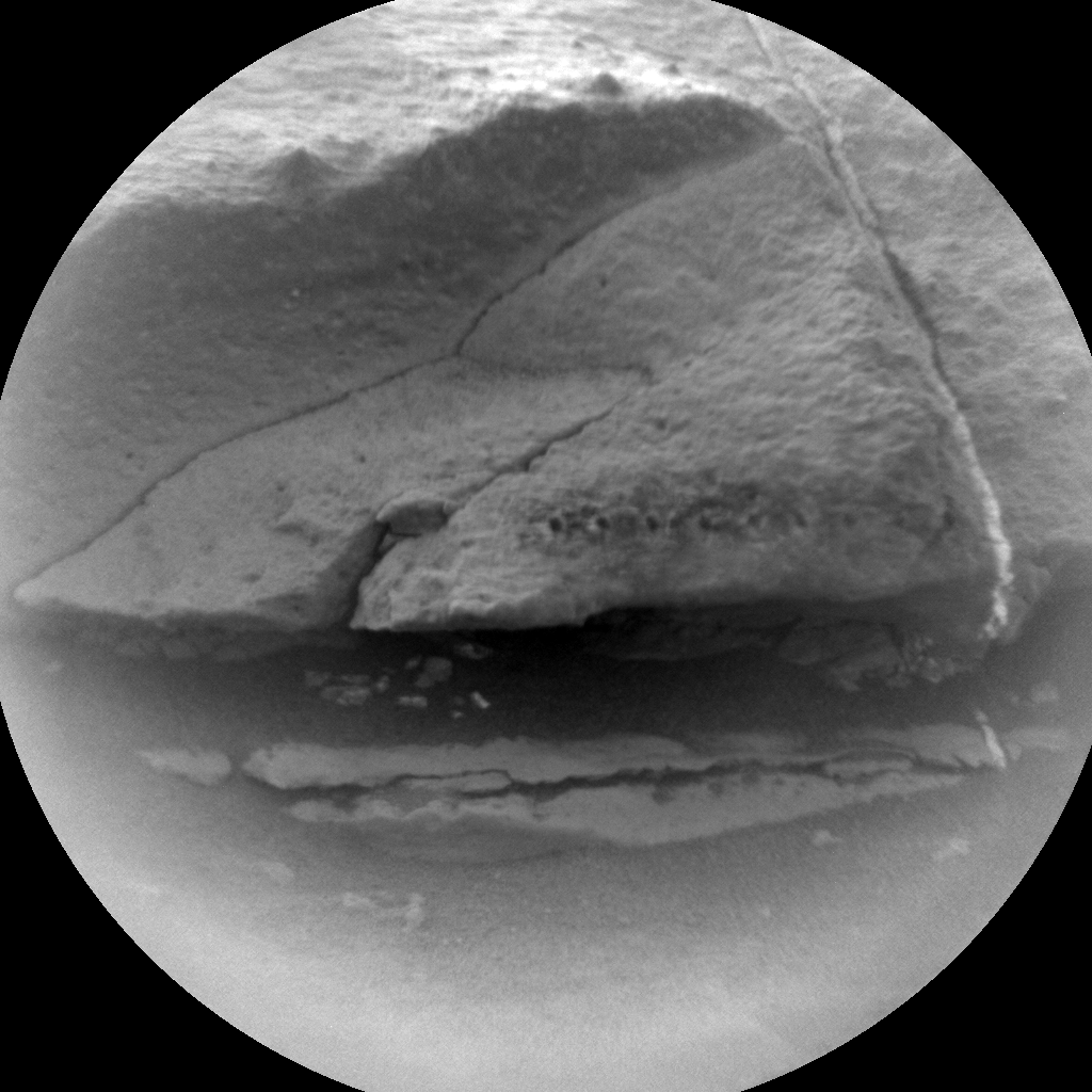 Nasa's Mars rover Curiosity acquired this image using its Chemistry & Camera (ChemCam) on Sol 627, at drive 1330, site number 31