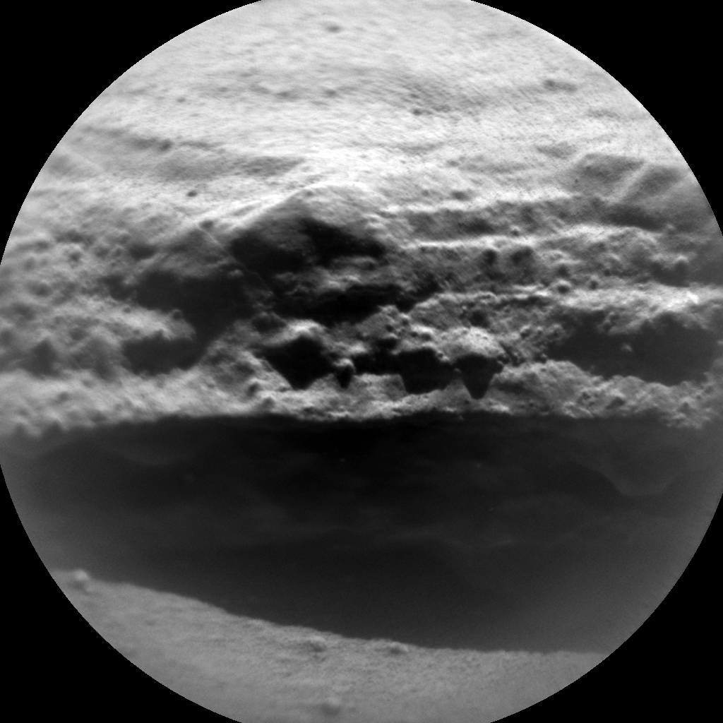 Nasa's Mars rover Curiosity acquired this image using its Chemistry & Camera (ChemCam) on Sol 628, at drive 1330, site number 31