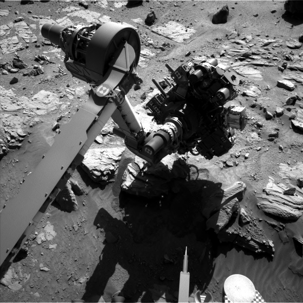 NASA's Mars rover Curiosity acquired this image using its Left Navigation Camera (Navcams) on Sol 629