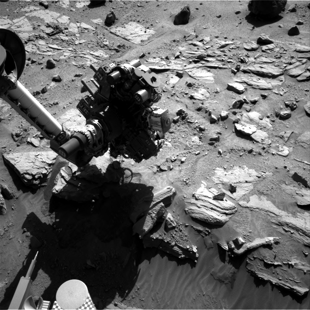 Nasa's Mars rover Curiosity acquired this image using its Right Navigation Camera on Sol 629, at drive 1330, site number 31