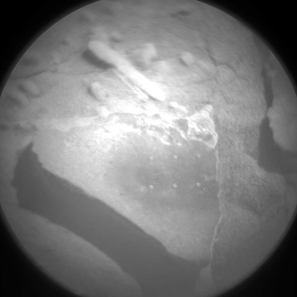 Nasa's Mars rover Curiosity acquired this image using its Chemistry & Camera (ChemCam) on Sol 630, at drive 1330, site number 31