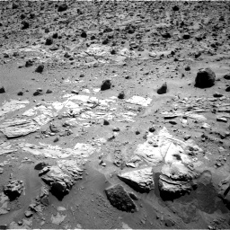 Nasa's Mars rover Curiosity acquired this image using its Right Navigation Camera on Sol 630, at drive 1336, site number 31