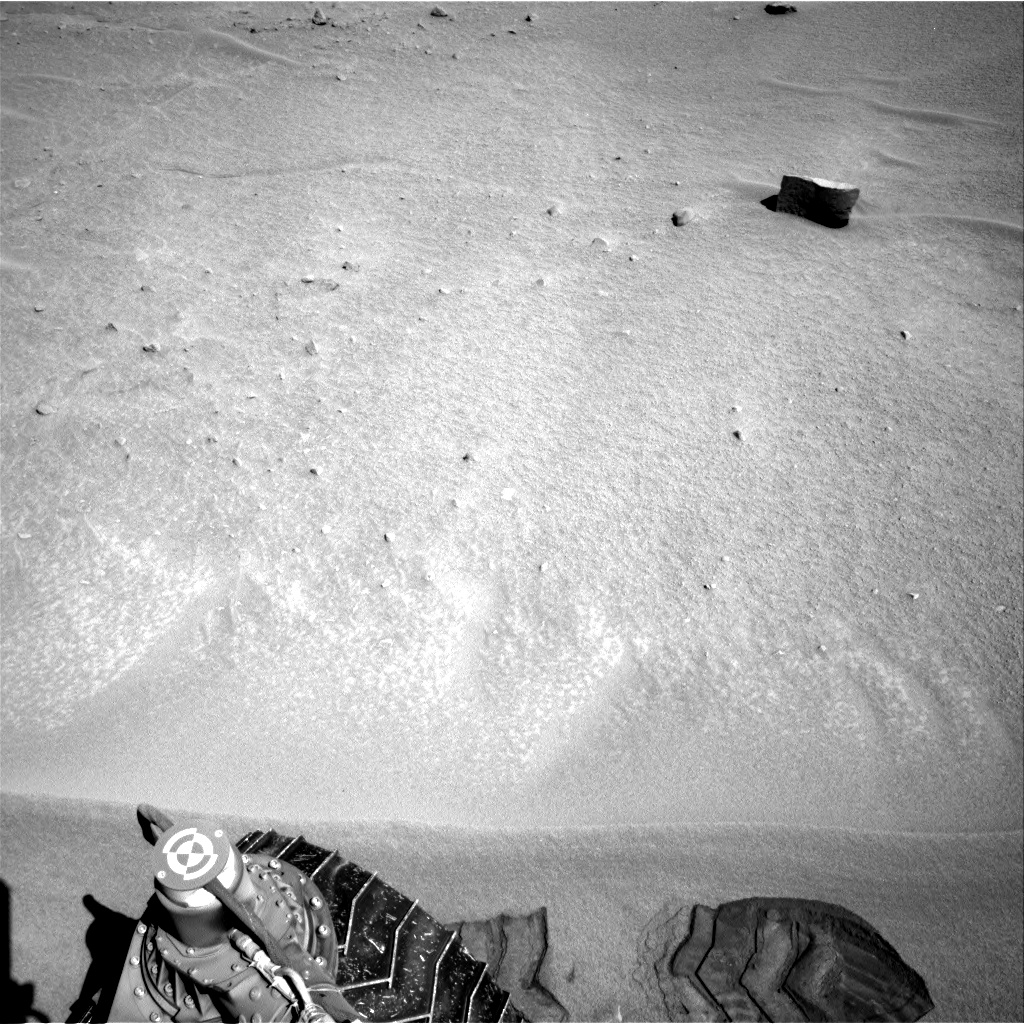 Nasa's Mars rover Curiosity acquired this image using its Right Navigation Camera on Sol 630, at drive 1472, site number 31