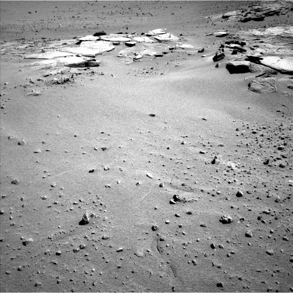 Nasa's Mars rover Curiosity acquired this image using its Left Navigation Camera on Sol 631, at drive 1634, site number 31