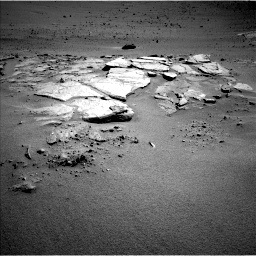 Nasa's Mars rover Curiosity acquired this image using its Left Navigation Camera on Sol 631, at drive 1652, site number 31