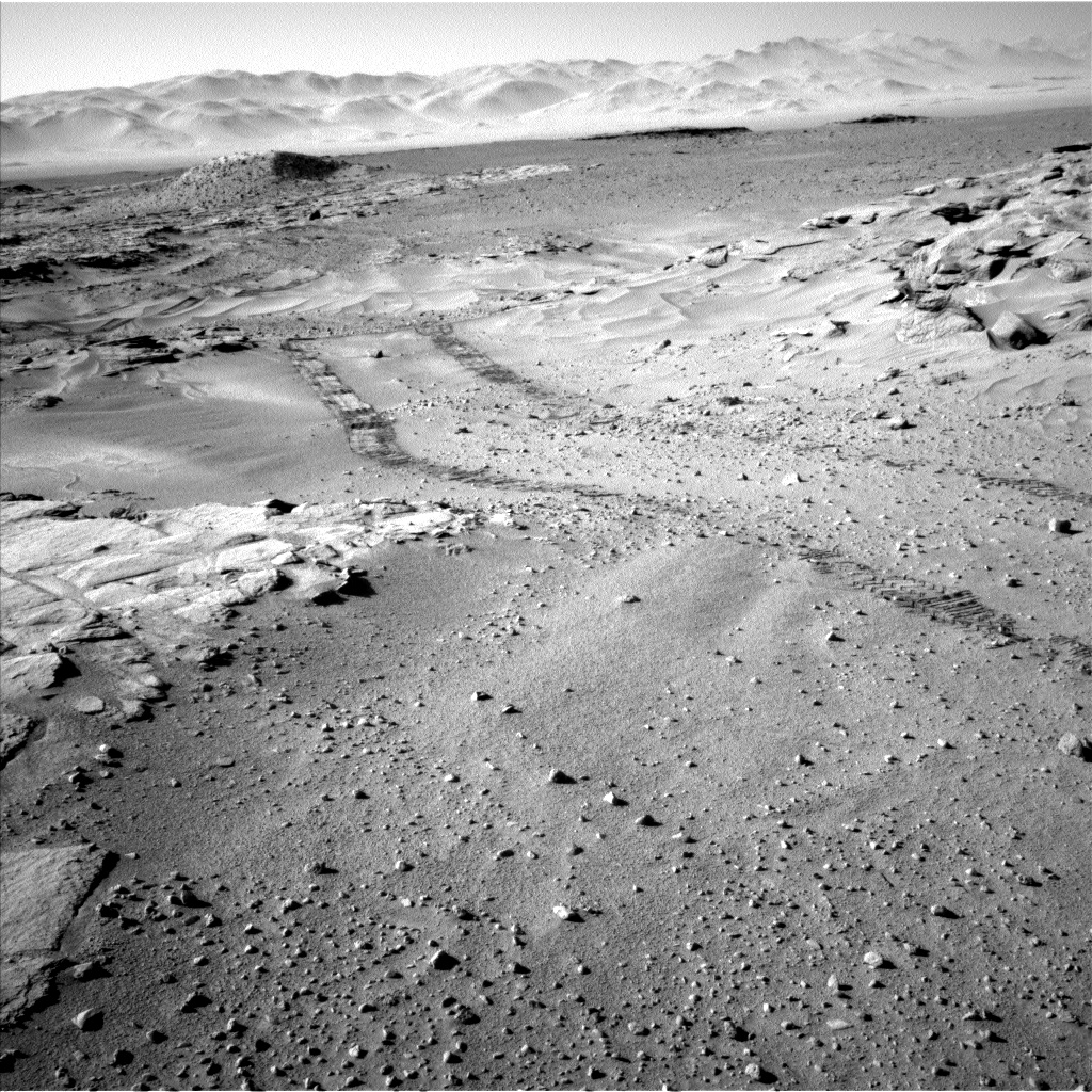 Nasa's Mars rover Curiosity acquired this image using its Left Navigation Camera on Sol 631, at drive 0, site number 32