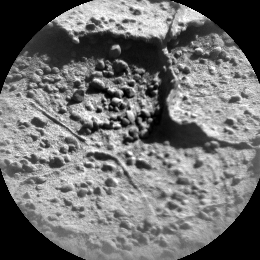 Nasa's Mars rover Curiosity acquired this image using its Chemistry & Camera (ChemCam) on Sol 632, at drive 0, site number 32