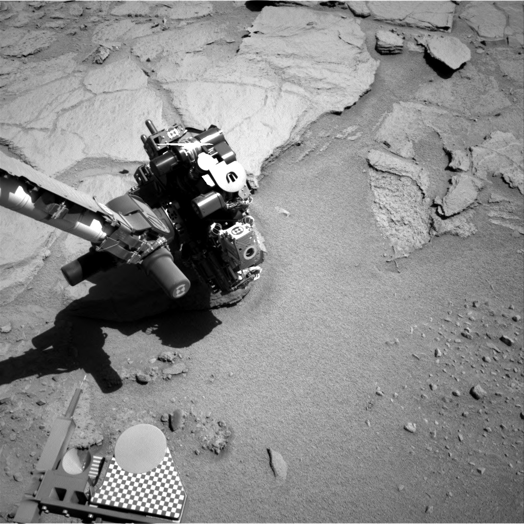 Nasa's Mars rover Curiosity acquired this image using its Right Navigation Camera on Sol 633, at drive 0, site number 32