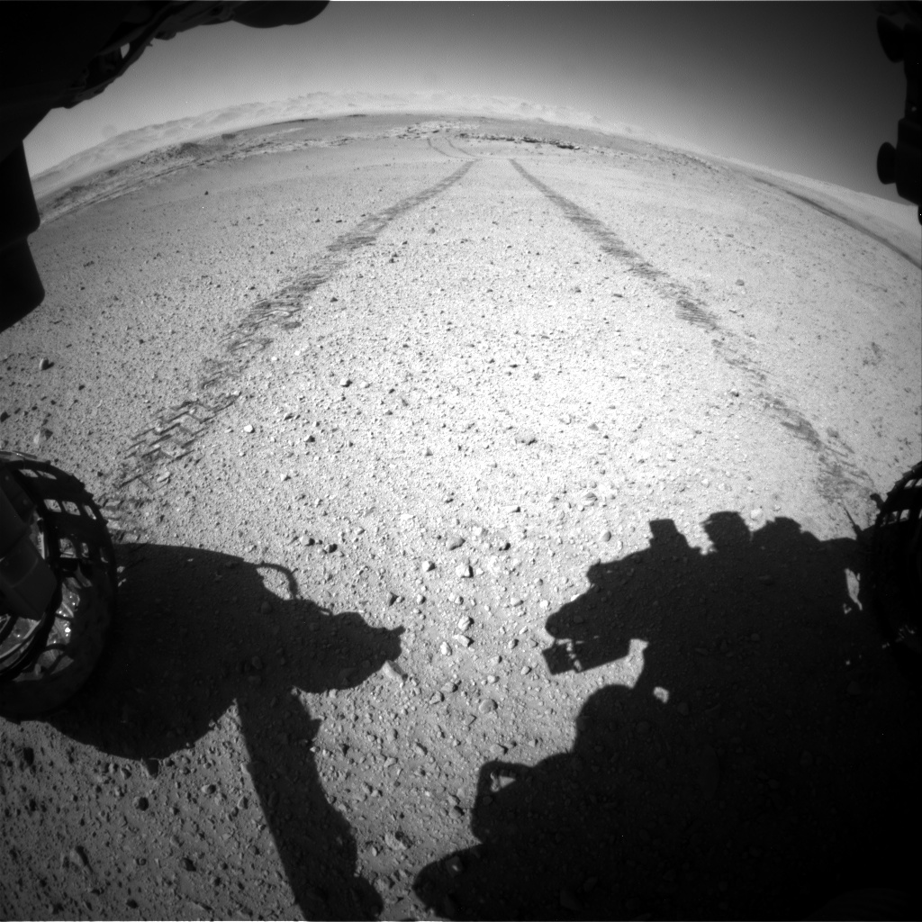 Nasa's Mars rover Curiosity acquired this image using its Front Hazard Avoidance Camera (Front Hazcam) on Sol 634, at drive 426, site number 32