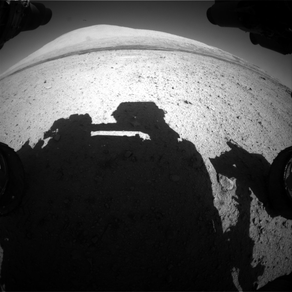 Nasa's Mars rover Curiosity acquired this image using its Front Hazard Avoidance Camera (Front Hazcam) on Sol 634, at drive 478, site number 32