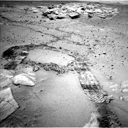 Nasa's Mars rover Curiosity acquired this image using its Left Navigation Camera on Sol 634, at drive 54, site number 32