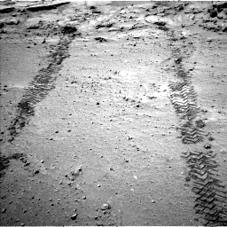 Nasa's Mars rover Curiosity acquired this image using its Left Navigation Camera on Sol 634, at drive 102, site number 32