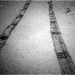 Nasa's Mars rover Curiosity acquired this image using its Left Navigation Camera on Sol 634, at drive 192, site number 32