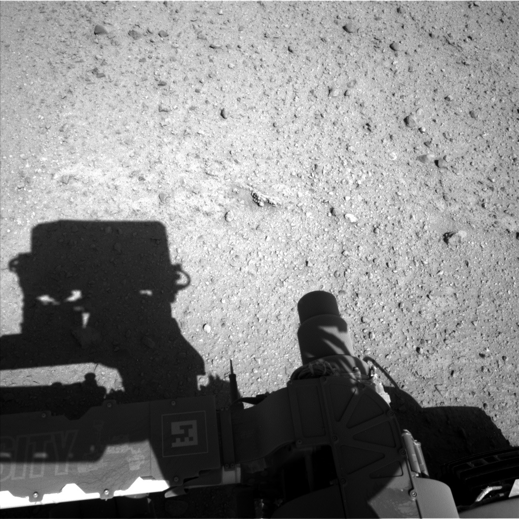 NASA's Mars rover Curiosity acquired this image using its Left Navigation Camera (Navcams) on Sol 634