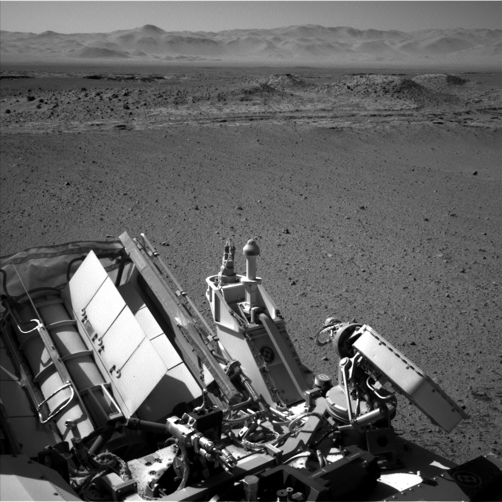 Nasa's Mars rover Curiosity acquired this image using its Left Navigation Camera on Sol 634, at drive 478, site number 32