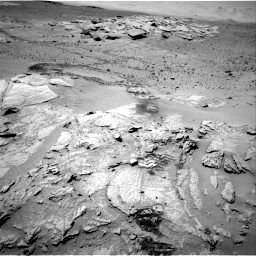 Nasa's Mars rover Curiosity acquired this image using its Right Navigation Camera on Sol 634, at drive 72, site number 32