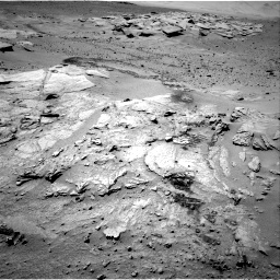 Nasa's Mars rover Curiosity acquired this image using its Right Navigation Camera on Sol 634, at drive 78, site number 32