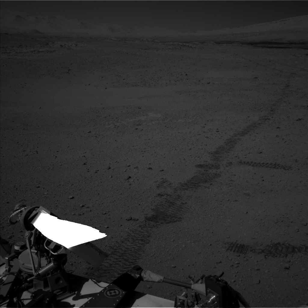 Nasa's Mars rover Curiosity acquired this image using its Left Navigation Camera on Sol 635, at drive 794, site number 32