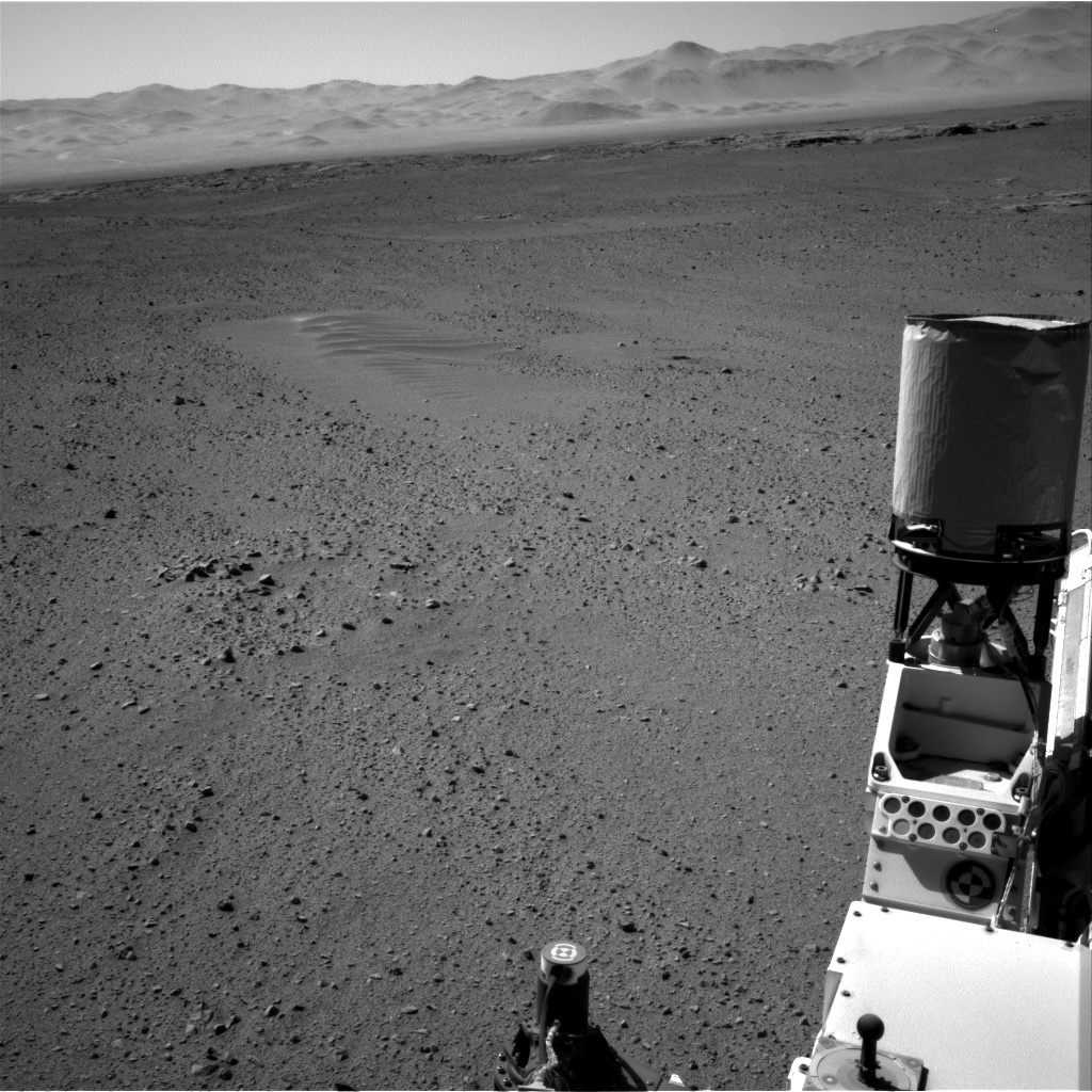 Nasa's Mars rover Curiosity acquired this image using its Right Navigation Camera on Sol 635, at drive 794, site number 32