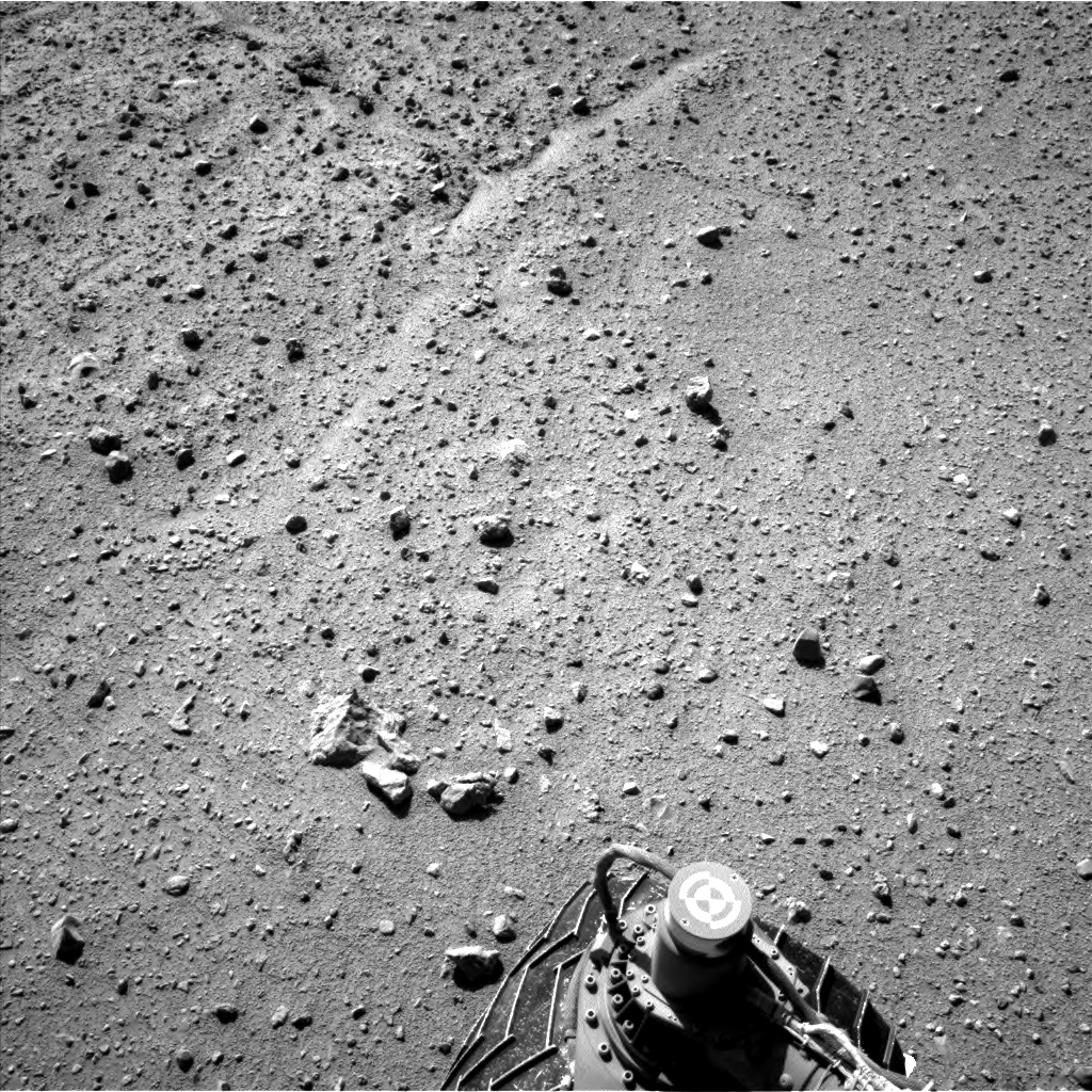 Nasa's Mars rover Curiosity acquired this image using its Left Navigation Camera on Sol 636, at drive 1020, site number 32