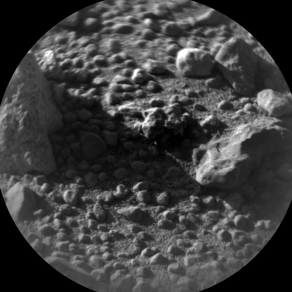 Nasa's Mars rover Curiosity acquired this image using its Chemistry & Camera (ChemCam) on Sol 636, at drive 1020, site number 32