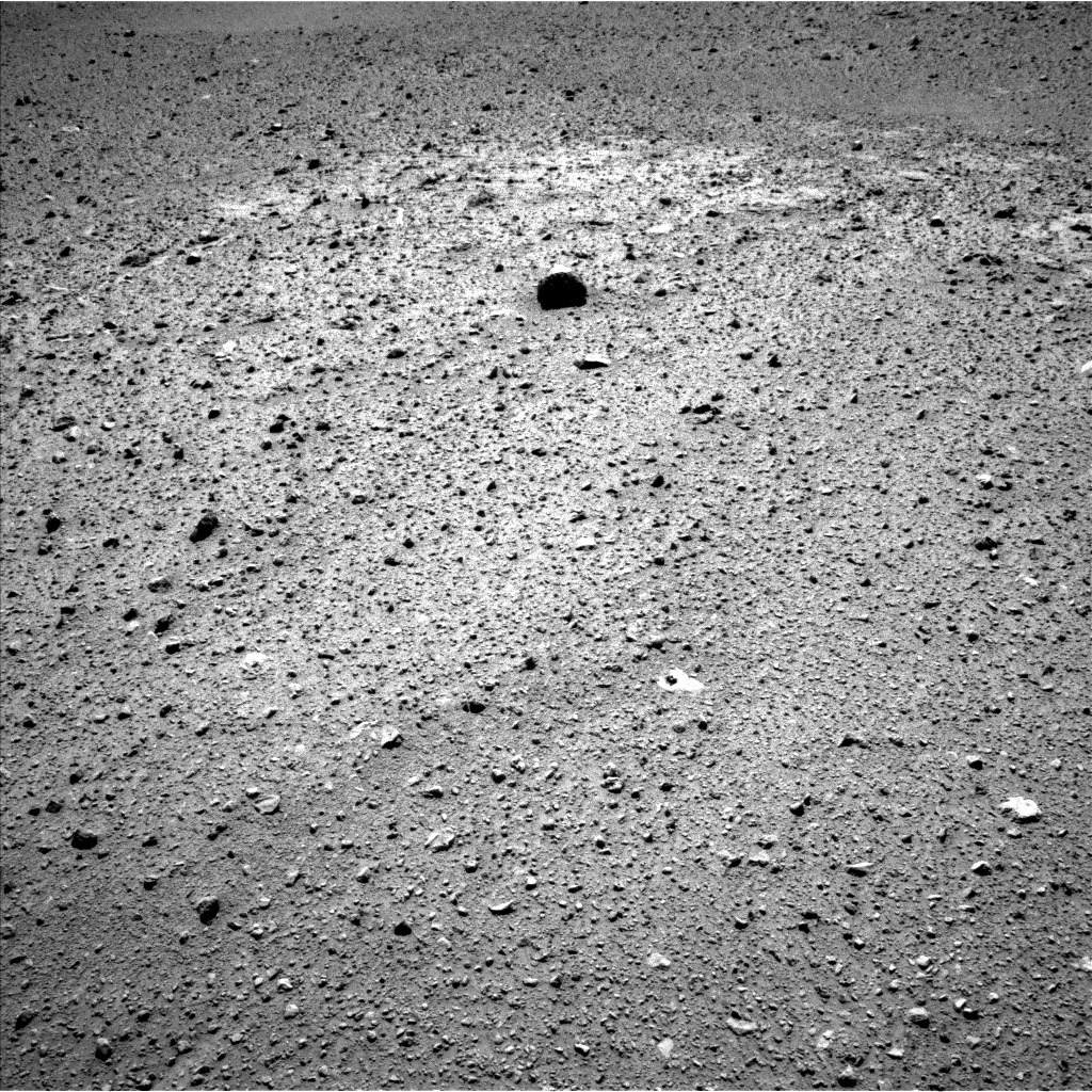 Nasa's Mars rover Curiosity acquired this image using its Left Navigation Camera on Sol 637, at drive 1218, site number 32