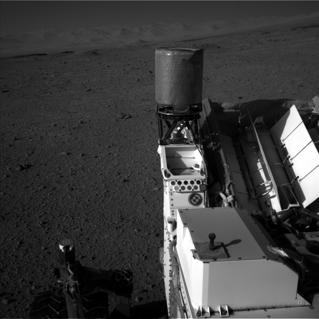 Nasa's Mars rover Curiosity acquired this image using its Left Navigation Camera on Sol 637, at drive 0, site number 33
