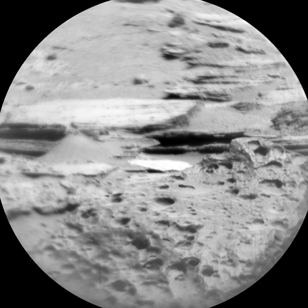 Nasa's Mars rover Curiosity acquired this image using its Chemistry & Camera (ChemCam) on Sol 637, at drive 1020, site number 32