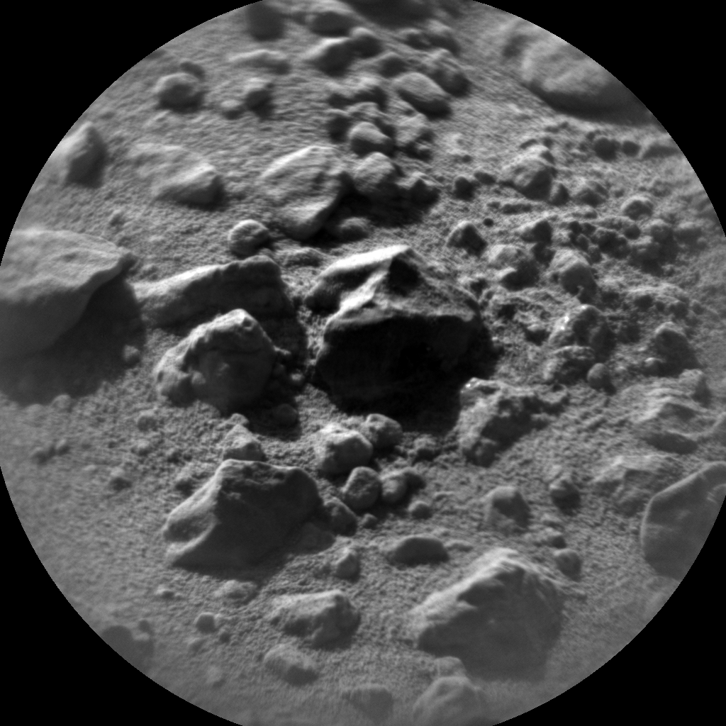 Nasa's Mars rover Curiosity acquired this image using its Chemistry & Camera (ChemCam) on Sol 637, at drive 0, site number 33