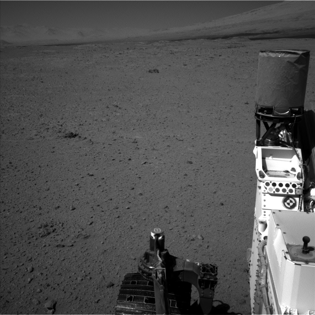 Nasa's Mars rover Curiosity acquired this image using its Left Navigation Camera on Sol 641, at drive 308, site number 33