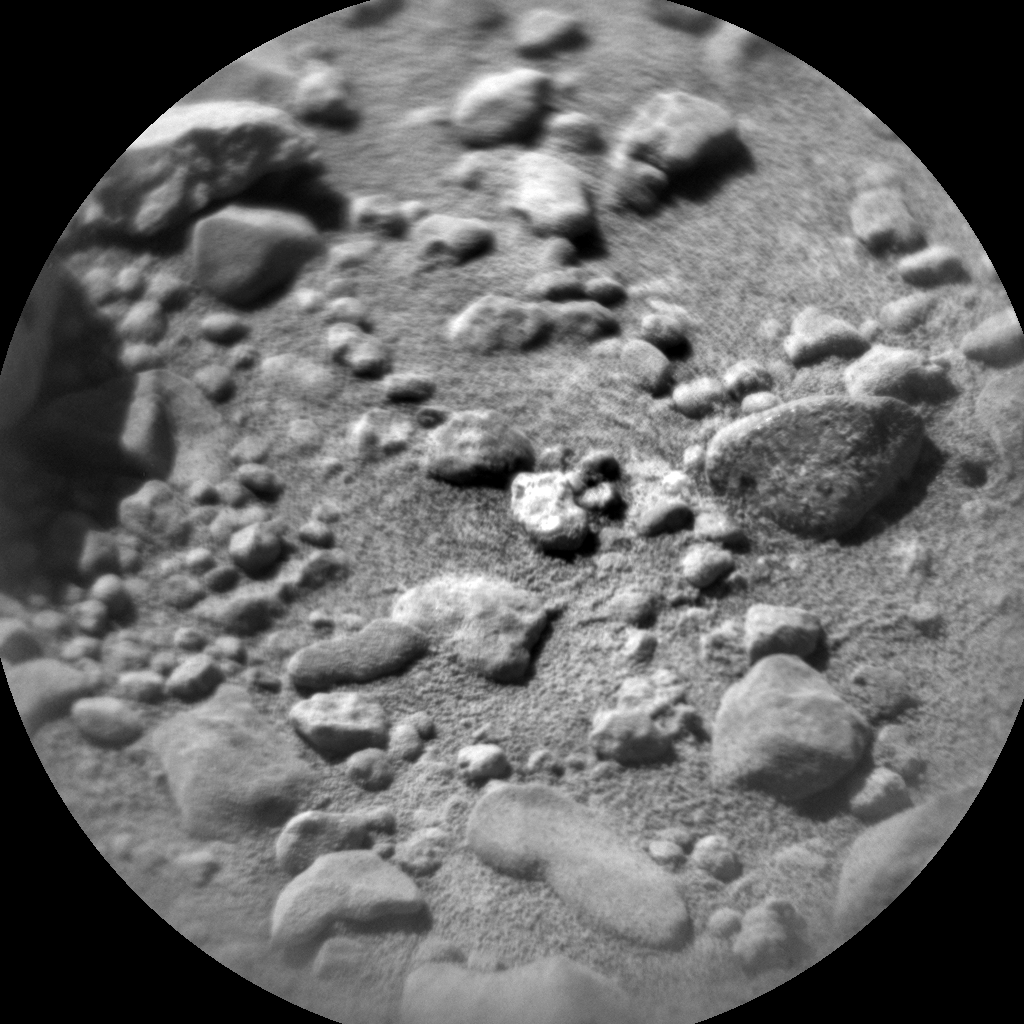 Nasa's Mars rover Curiosity acquired this image using its Chemistry & Camera (ChemCam) on Sol 642, at drive 308, site number 33