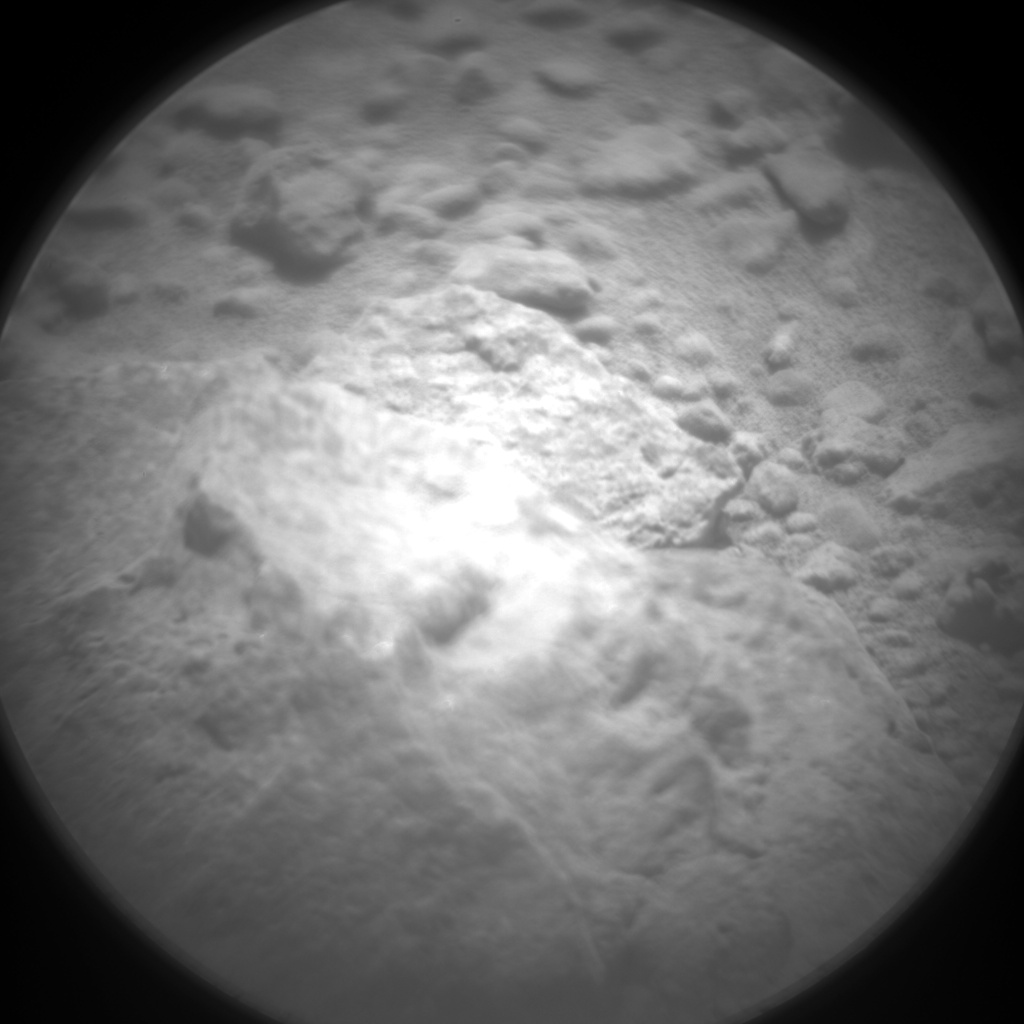Nasa's Mars rover Curiosity acquired this image using its Chemistry & Camera (ChemCam) on Sol 643, at drive 308, site number 33