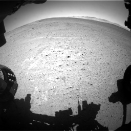 Nasa's Mars rover Curiosity acquired this image using its Front Hazard Avoidance Camera (Front Hazcam) on Sol 643, at drive 572, site number 33