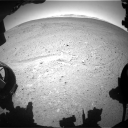NASA's Mars rover Curiosity acquired this image using its Front Hazard Avoidance Cameras (Front Hazcams) on Sol 643