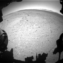 Nasa's Mars rover Curiosity acquired this image using its Front Hazard Avoidance Camera (Front Hazcam) on Sol 643, at drive 644, site number 33