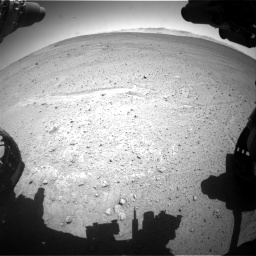 Nasa's Mars rover Curiosity acquired this image using its Front Hazard Avoidance Camera (Front Hazcam) on Sol 643, at drive 584, site number 33